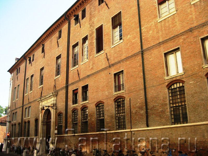 Palazzo dei diamanti and the avenue of renaissance palaces in ferrara mediaeval walks - Palazzo turchi di bagno ...