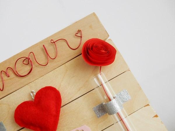 Saint Valentin : La planche déco