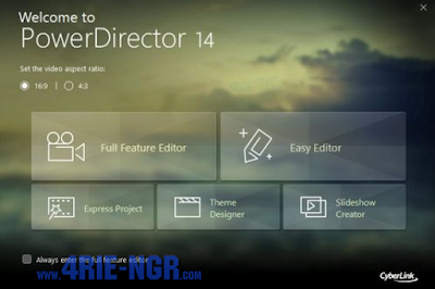 Cyberlink PowerDirector Ultimate 14.0.2019.0 Final Full Version