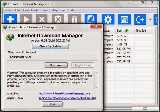 Internet Download Manager 6.18 Build 9 With Serial Number-Crack-Patch