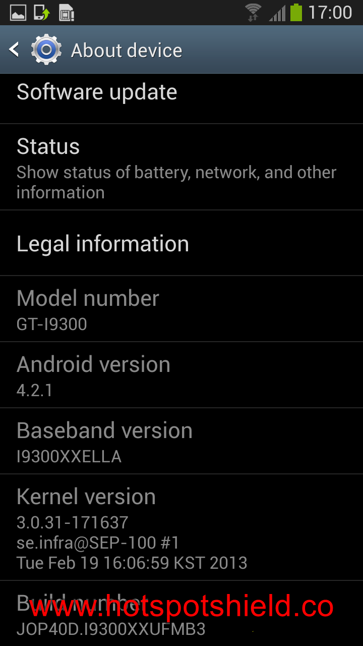 S3 I9300 to Leaked Android 4.2.1 XXUFMB3 Jelly Bean Official Firmware