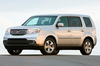2015 New Honda Pilot for car used front view