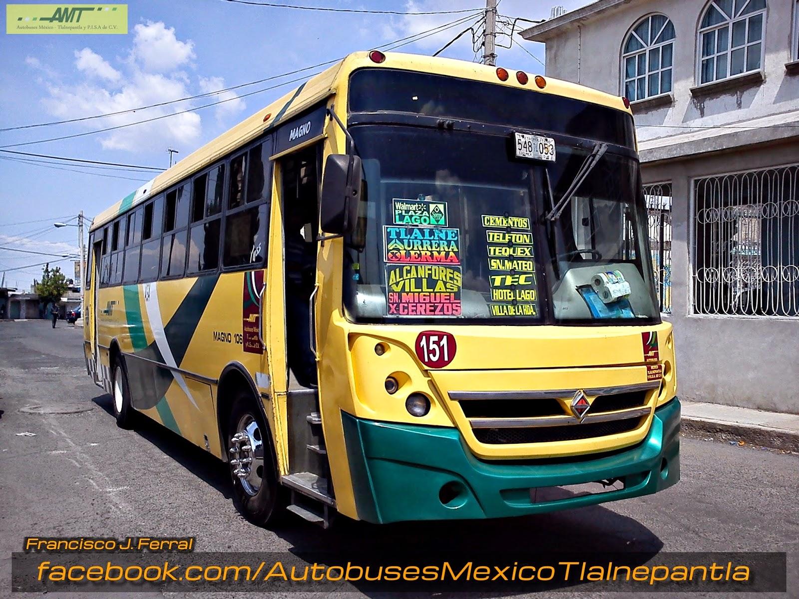 Autobuses México - Tlalnepantla y Puntos Intermedios S.A ...