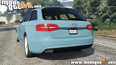 V - Audi A4 Avant 2013 para GTA V PC