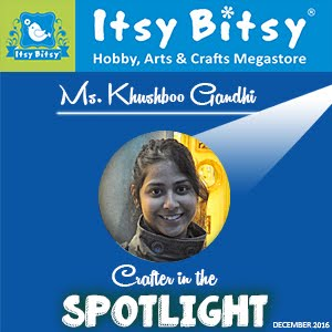 Recognised by Itsy Bitsy India