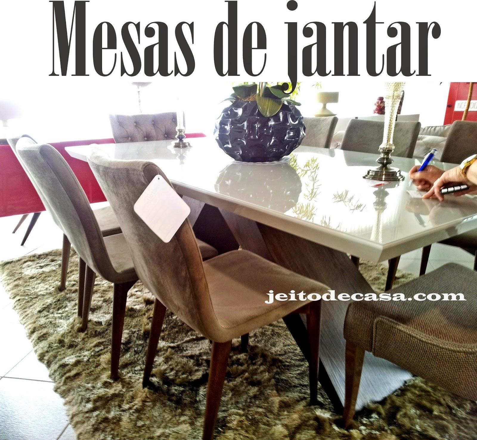 Mesas De Jantar Modelos Que Vi Por Aqui Jeito De Casa Blog De  -> Aparador Para Sala D Jantar Aki