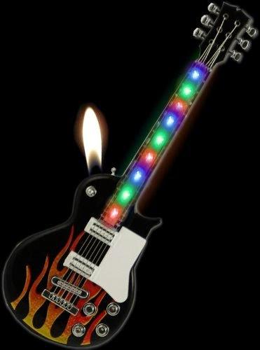 Electric Guitar Lighter