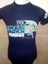 Vintage Nike Honolulu Marathon 1980