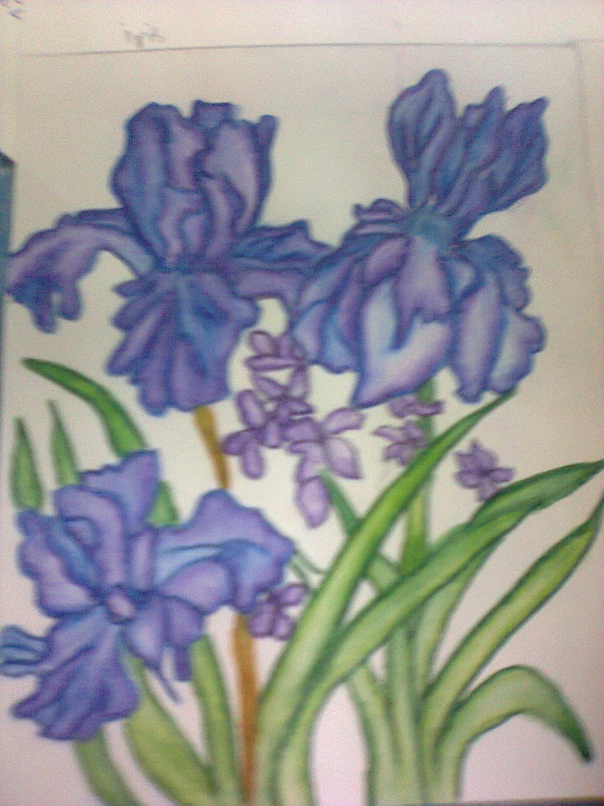 Gambar La Lakaran Kehidupan Koa Lukisan Bunga Bungaan Gambar Rama Di Rebanas Rebanas