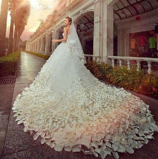 Vestidos de novia fuera de lo com n la novia y bodas for Fuera de lo comun