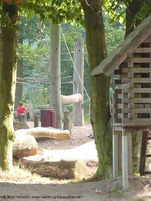 Holzspielplatz Öjendorfer Park