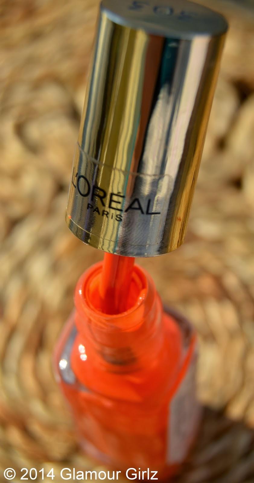 L'Oreal Color Riche 303 Tangerine.