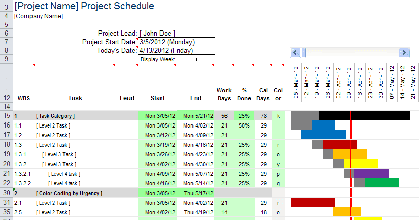 Free Excel Chart Templates