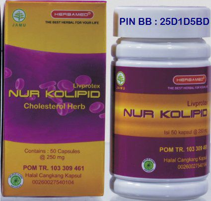 NUR KOLIPID UNIQUE HERBAMED INDONESIA
