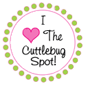 I&#39;ve Won on the Cuttlebug Spot Blog Challenge