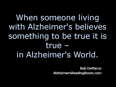 Alzheimer's World Bang Your Head Against the Wall