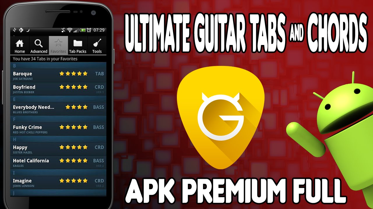 Ultimate Guitar Tabs Chords V417 Apk Latest Karanbi