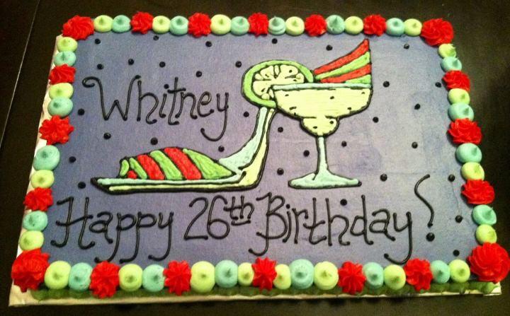 Sweet Treats By Susan Margarita Glasshigh Heel Birthday Cake
