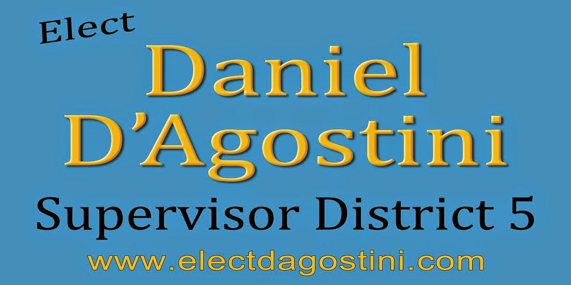 Elect Daniel D'Agostini - Supervisor District 5