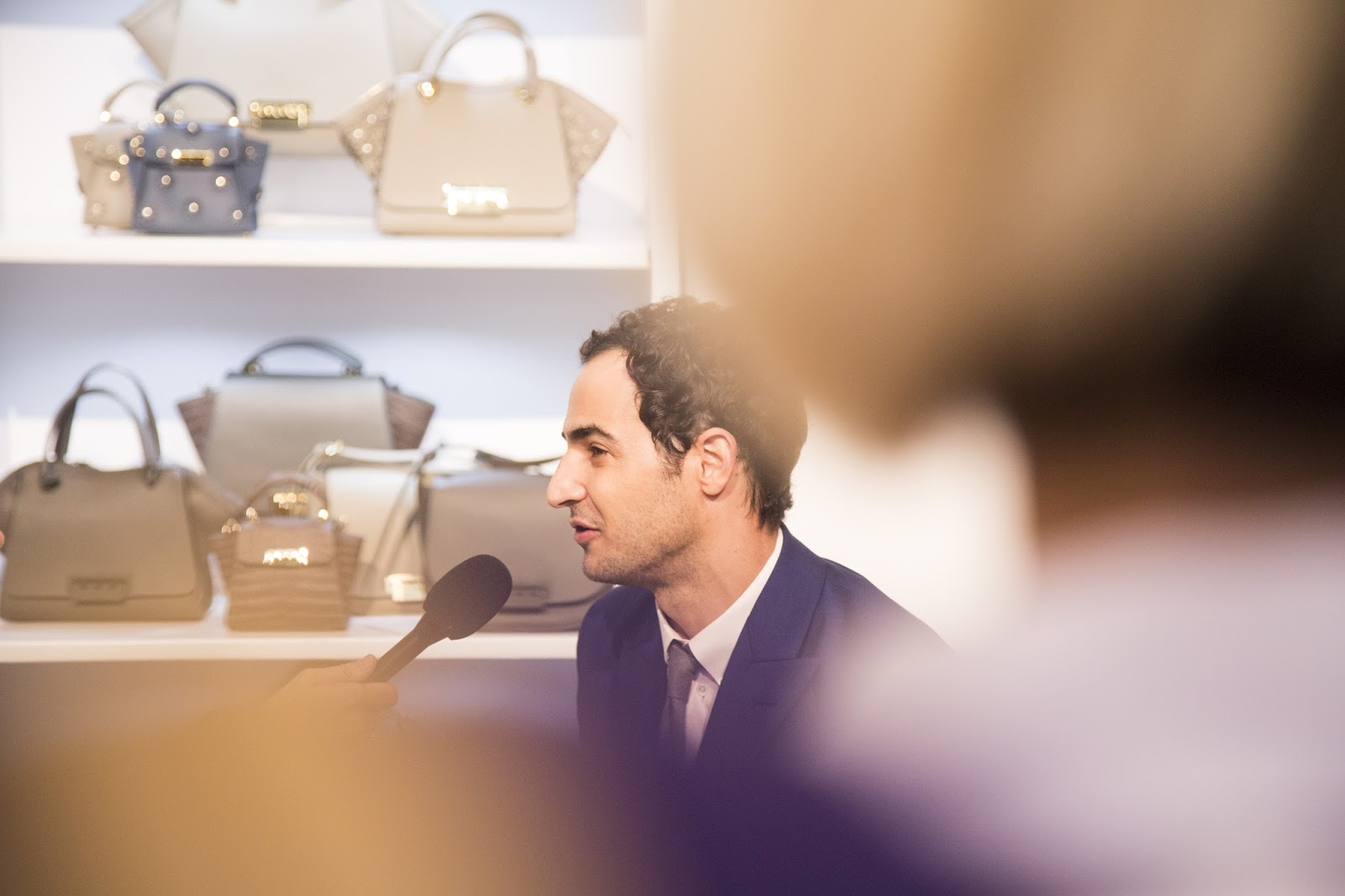 Interviewing fashion designer Zac Posen- Coterie Trade Show 2015