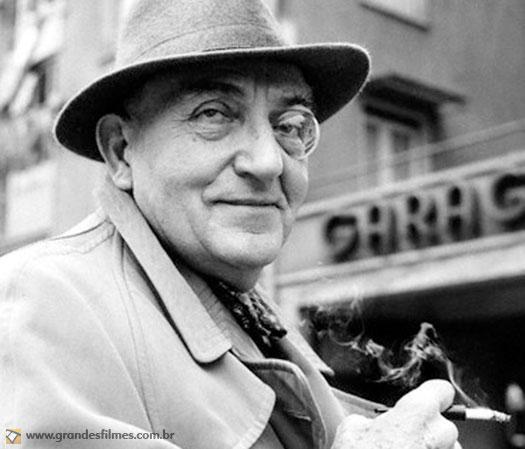 O diretor Fritz Lang