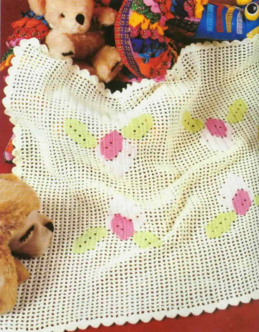 All Crochet Free Patterns : Crochet Baby Blanket Free Patterns ~ Free Crochet Patterns