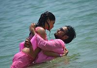 Actress Sunaina Wet Navel Photos