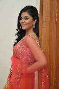 sri mukhi glam pix in half saree-thumbnail-20