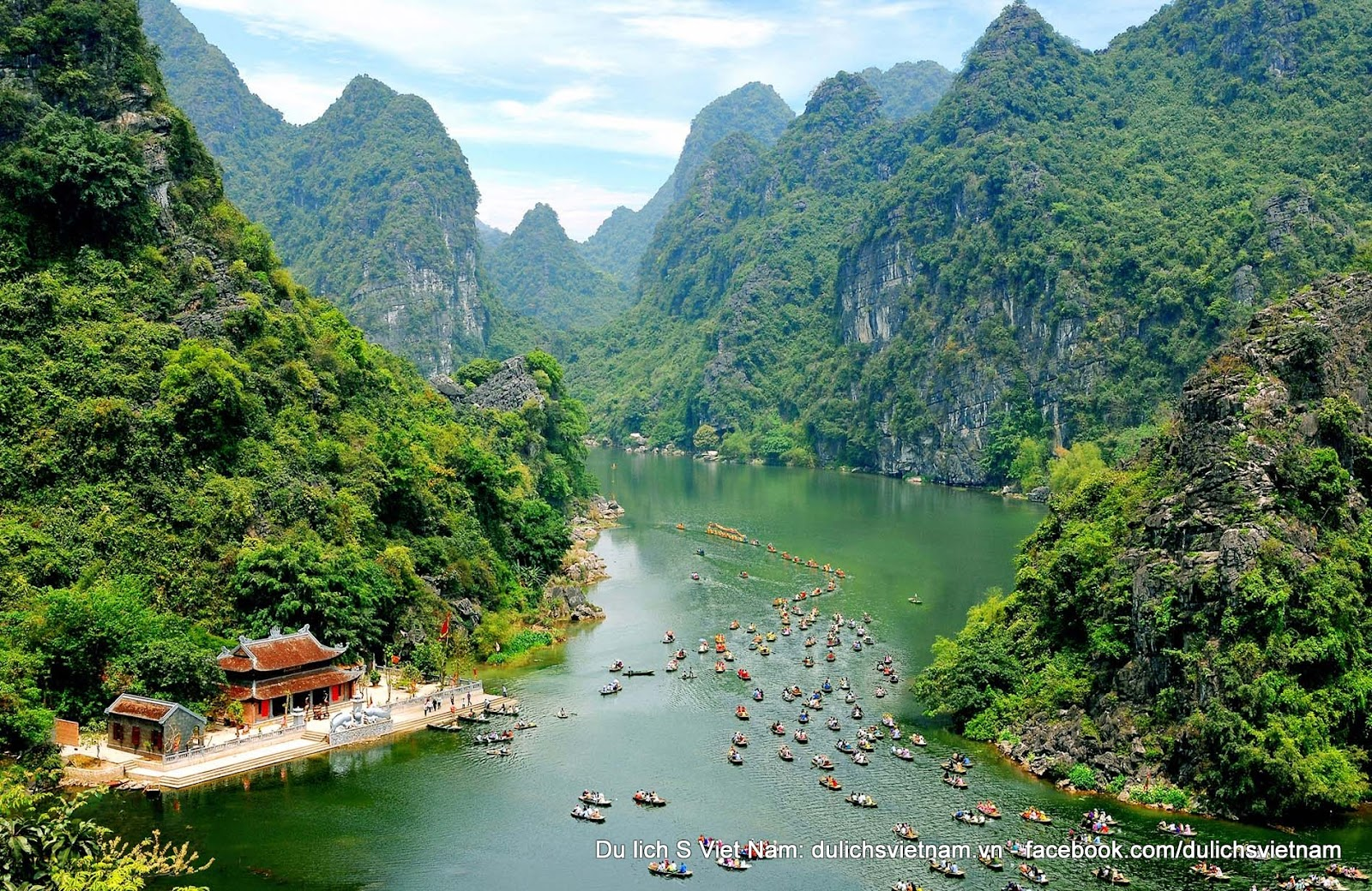the Trang An complex consists of the Hoa Lu ancient citadel, Trang An-Tam Coc-Bich Dong natural scenic site, and the Hoa Lu primeval forest. The complex is often called Vietnam's Ha Long Bay on land.