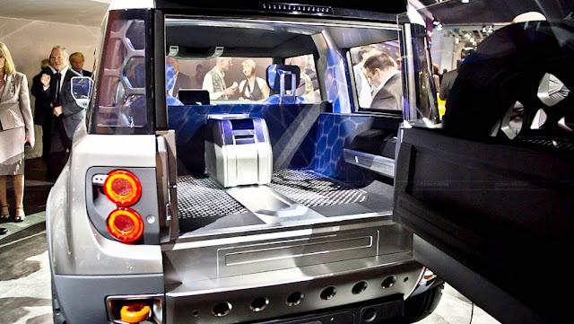 2016 Land Rover Defender Specs