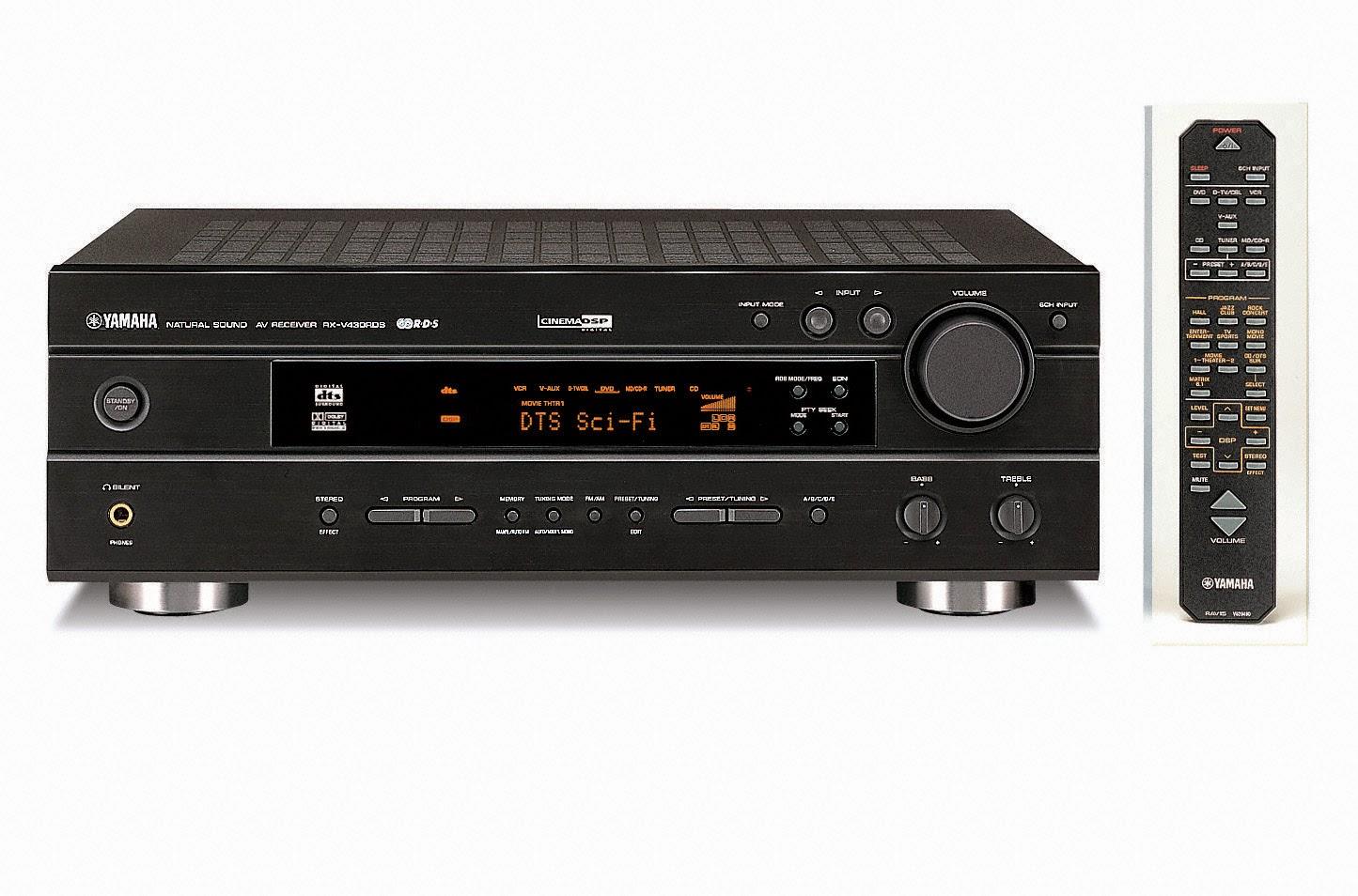 Yamaha Rx V430rds Av Receiver Audiobaza