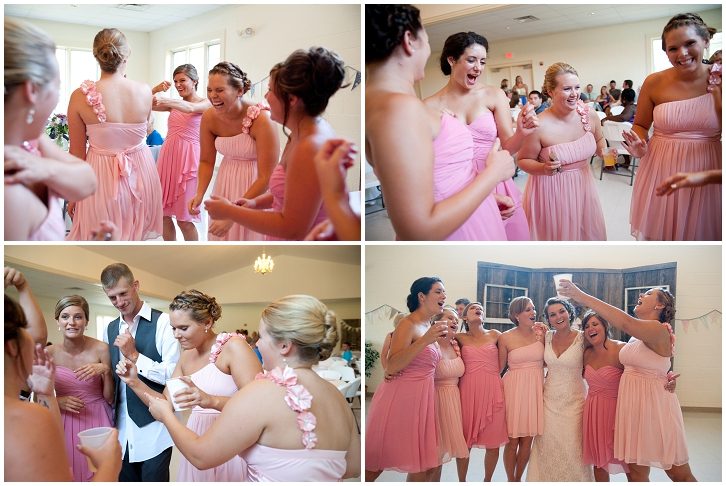 Mismatched Pink Bridesmaid Dresses 03