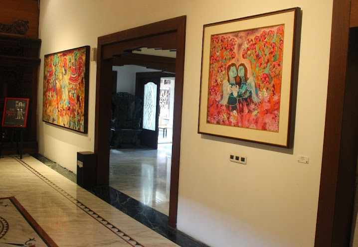 Klowor Waldiyono solo exhibition colours of klowor