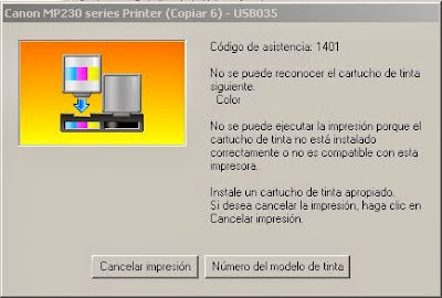 code printers assistance Canon