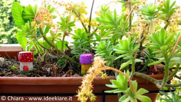 Decorazioni fai-da-te per vasi dei fiori