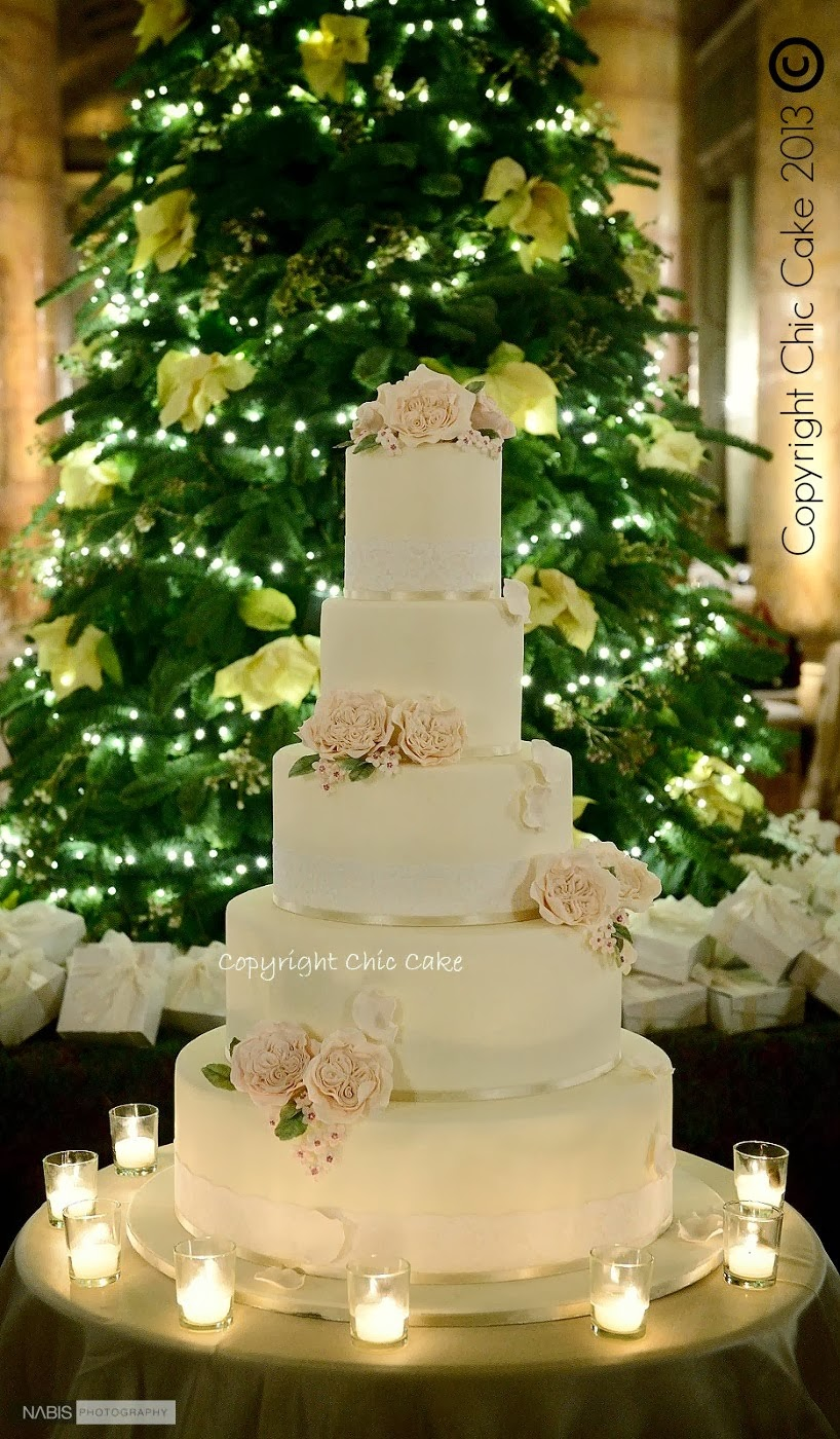 "Wedding Cake ""Rose Austen"""