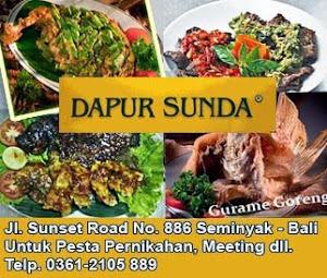 Rumah Makan Dapur Sunda @ Bali