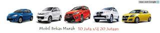 Mobil Bekas Murah 10 sampai 20 Jutaan