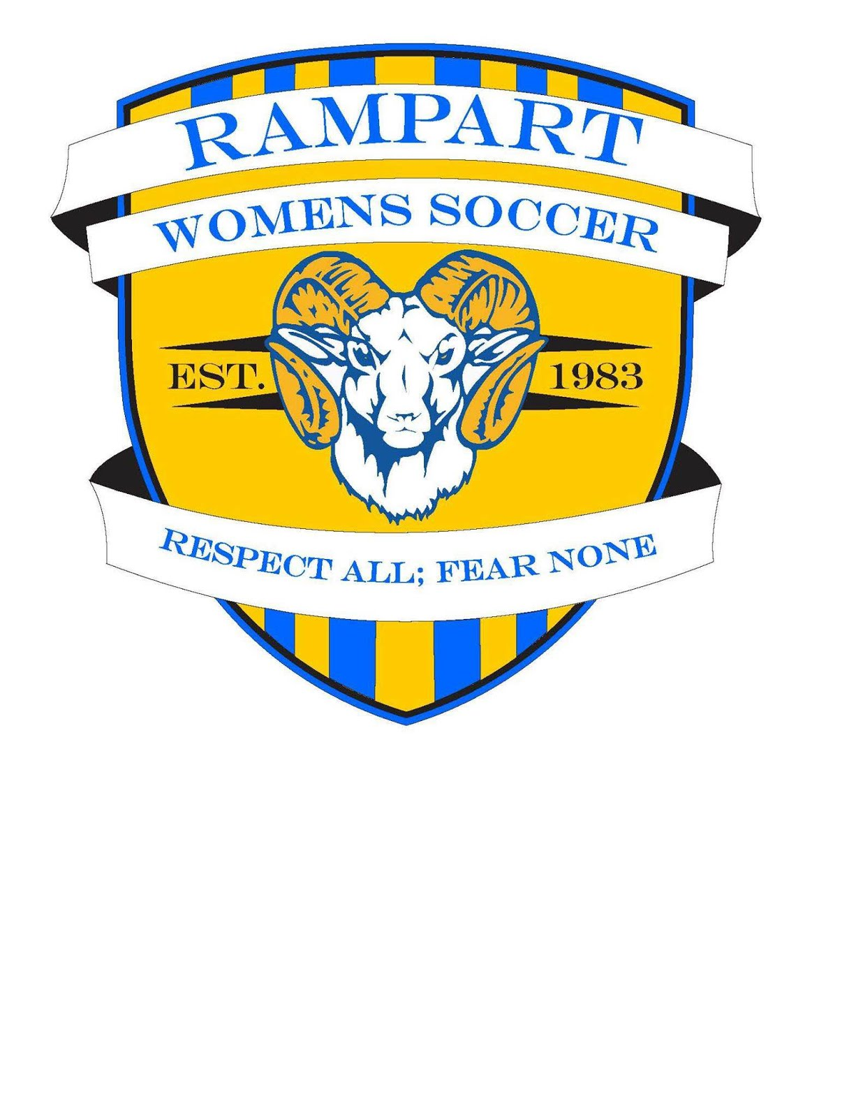 Rampart Girls Soccer Crest
