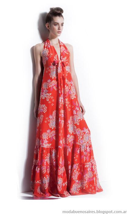 Carmela Achaval primavera verano 2014. Moda 2014 vestidos.