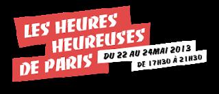 Apero gourmand LES HEURES HEUREUSES Paris petites bouchees 2euros Thierry Marx pierre-Sang happy hours mai 2013