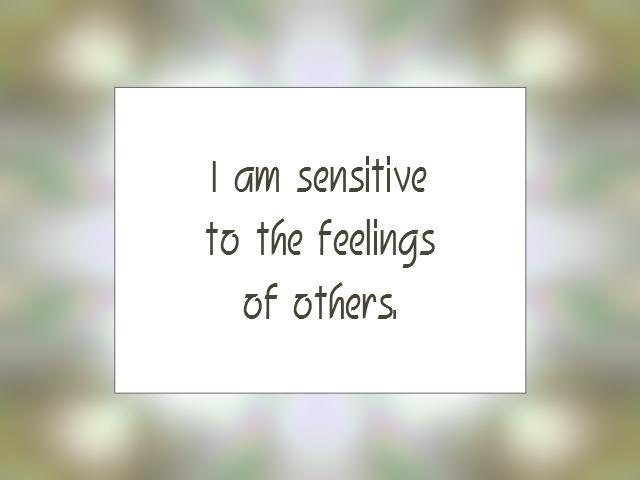 EMOTIONS affirmation