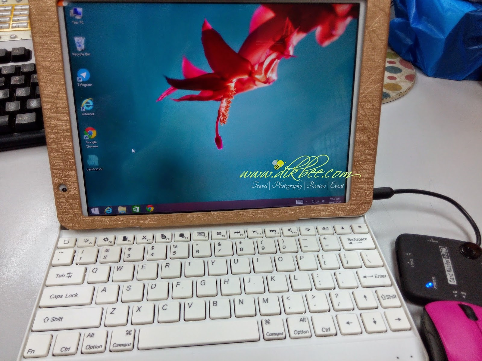 Review Tablet Dual Boot - Android 4.4 Dan Windows 8.1