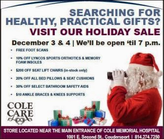 12-3/4 Cole Holiday Sale
