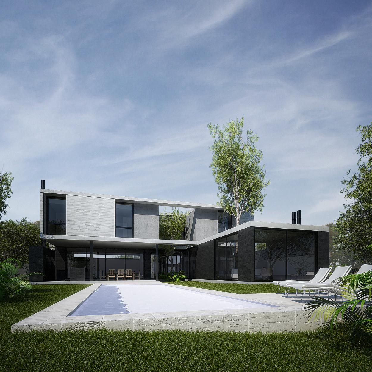 Casa e186 amado cattaneo arquitectos - Arquitectos casas modernas ...