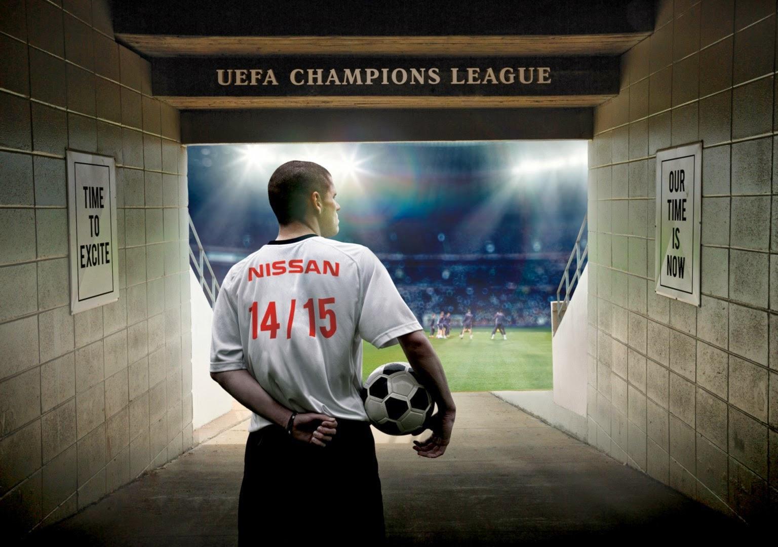 Nissan, sponsor ufficiale della UEFA Champions League dalla stagione 2014-2015