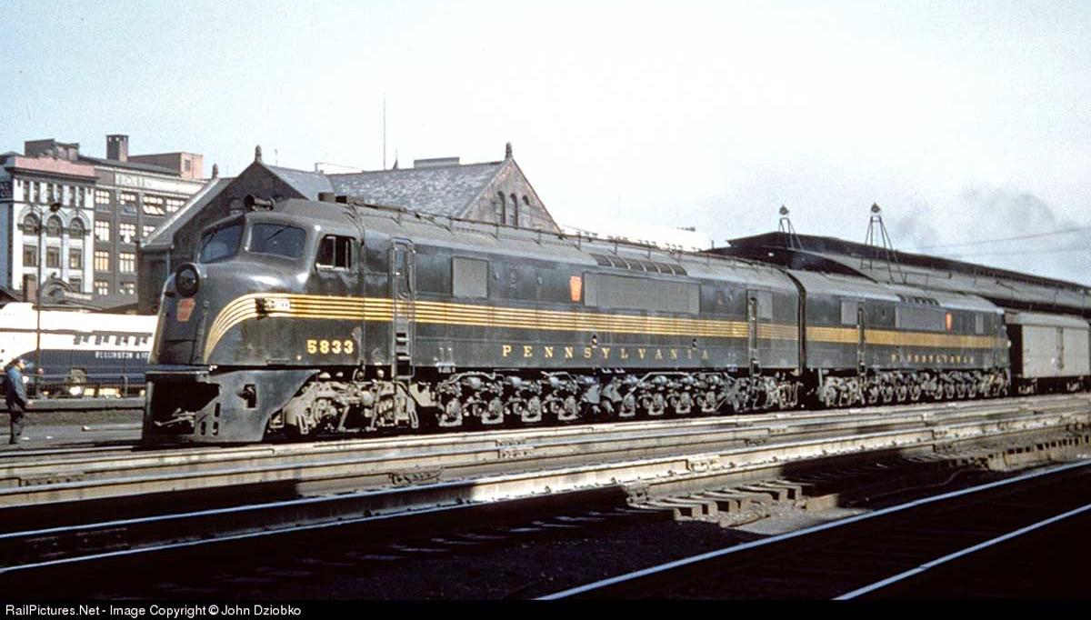 Baldwin centipede locomotive