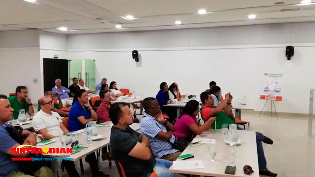 Taller de liderazgo: SINTRADIAN seccional Barranquilla
