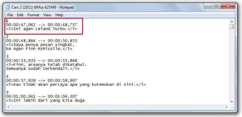 Apa Itu File Srt Cara Membuat File Srt Dari Notepad
