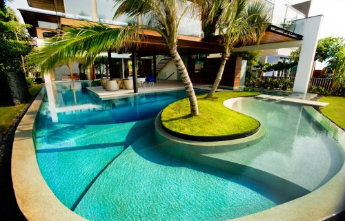 Modern homes best swimming pool designs ideas modern - Modern house with pool ...